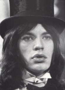 A young Mick Jagger